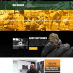 Gary Brown Dream 68 website homepage