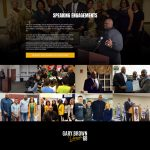 Gary Brown Dream 68 Speaking engagement page