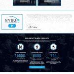 NYSUM Website homepage