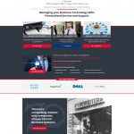 Central Digital Solution homepage design