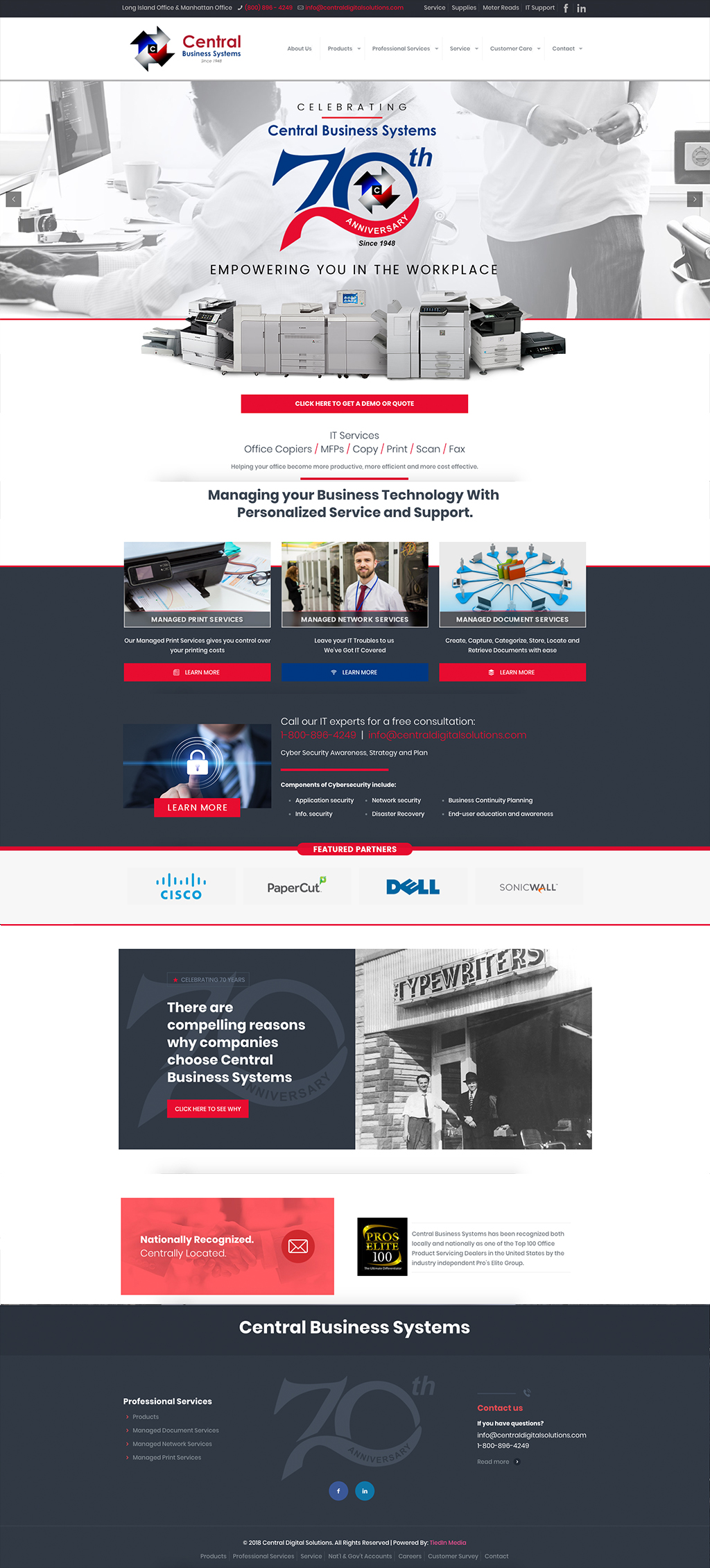 Central-Business-Systems-homepage