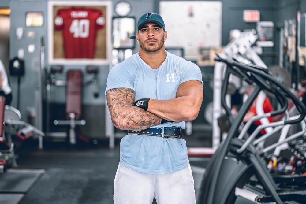 Humble Gainz weight belt