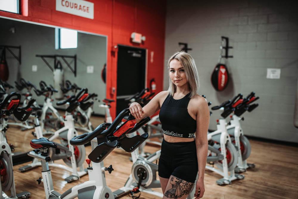 Humble Gainz exercise bike