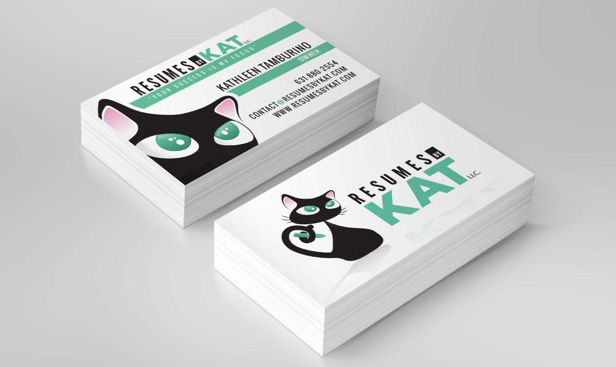 business-card-design-resume-by-kat