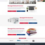 Central Digital Solution Professional Services Page
