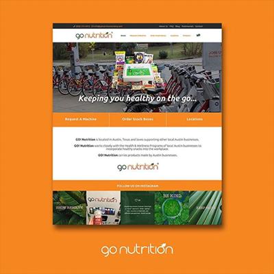 go-nutrition-website