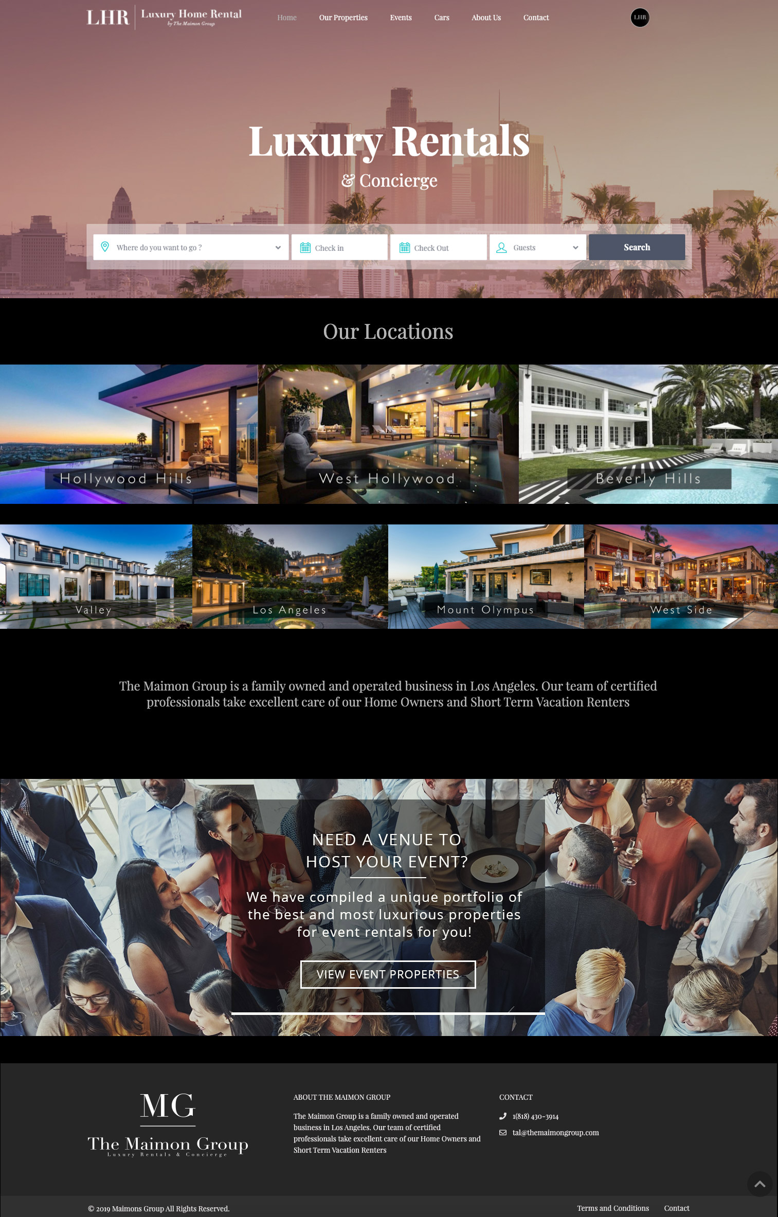 luxury-home-rental-website