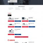 Central Digital Solution Products page