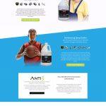 Anti 3 Protect Series website homepage