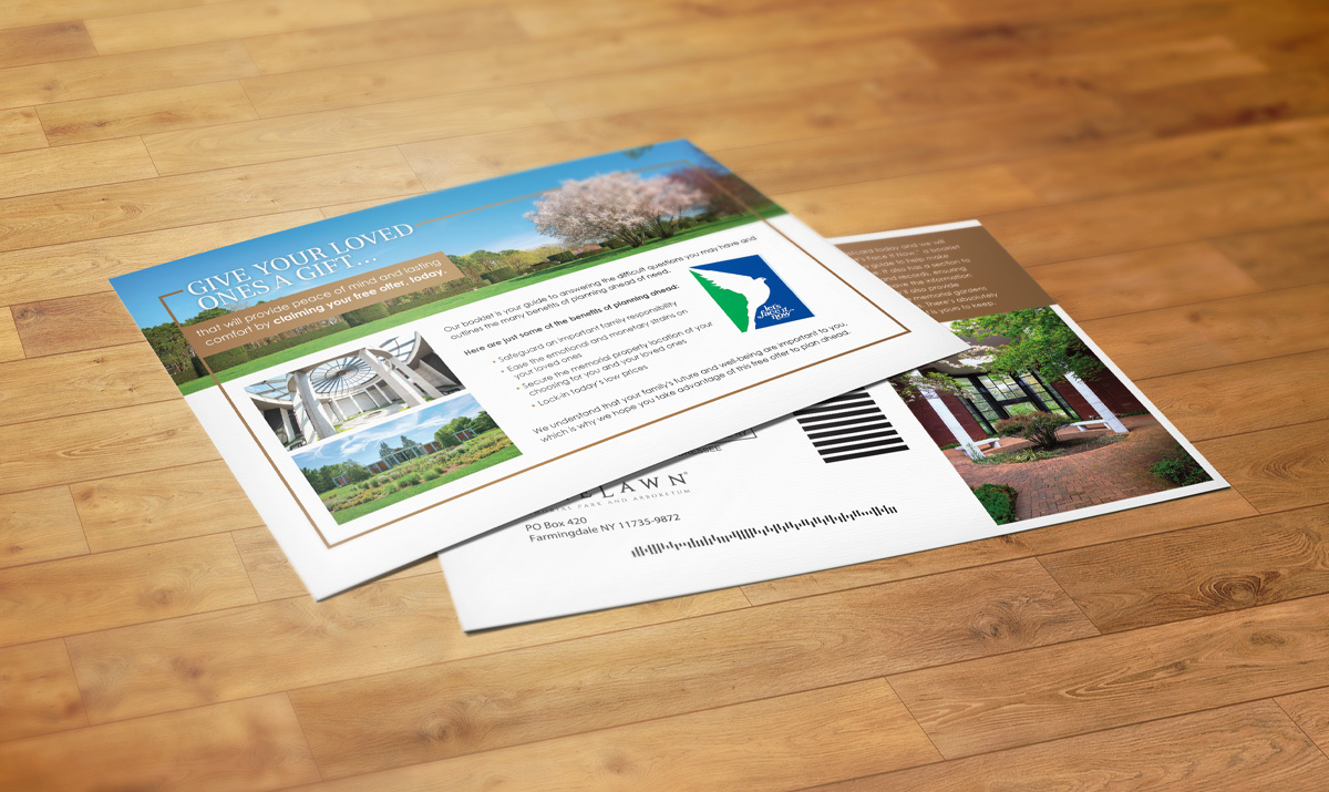 Pinelawn mailers