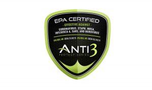 Anti 3 Protect Series epa certified logo