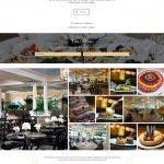 The Carltun website Restaurant page