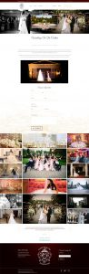 The Carltun website wedding page