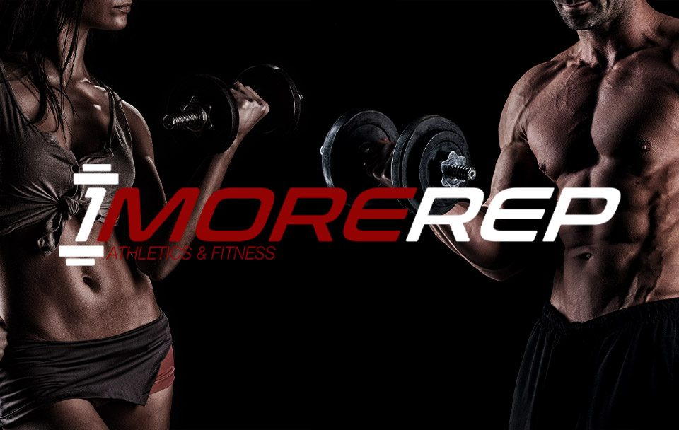 1 More Rep fitness people lifting weights