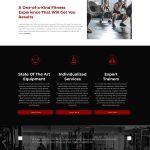 1MR website design homepage mockup