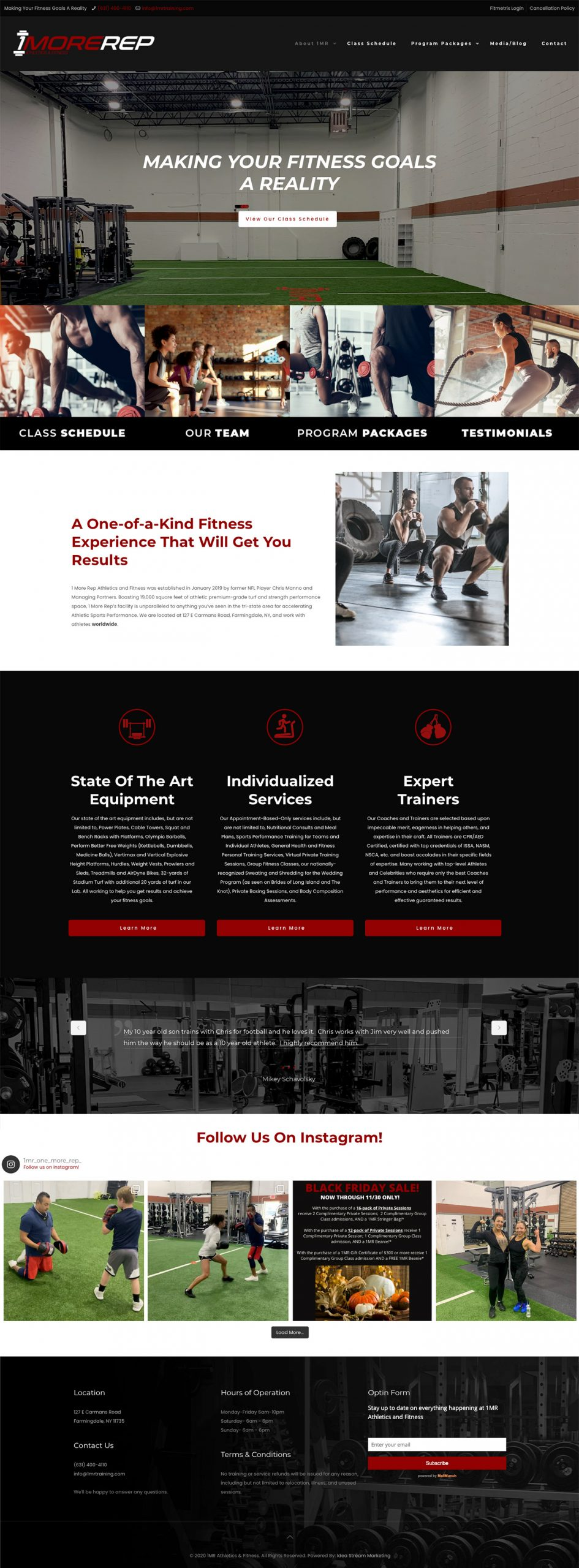 1 More Rep Athletics & Fitness