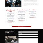 1MR website design program packages page mockup