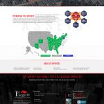 1st Equity website design residential page mockup