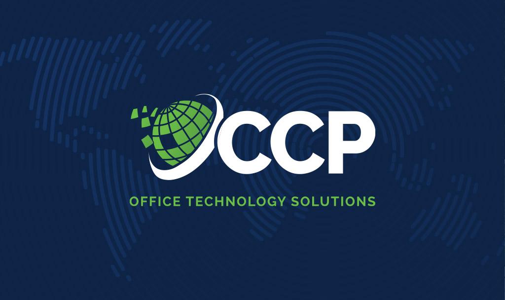 CCP logo blue background